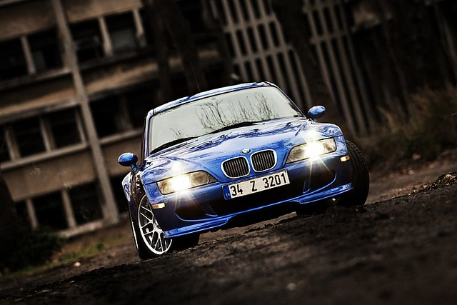 2000 BMW Z3 M Coupe | Estoril Blue | Black | BBS RC Wheels