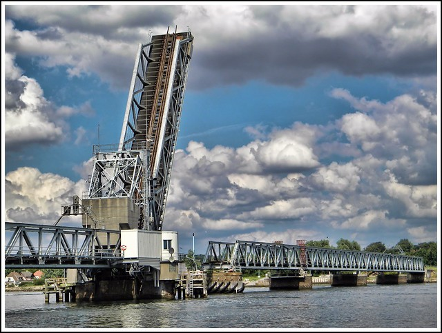 Retro railroad bridge