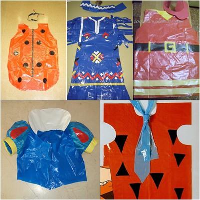 Disfraces reciclados para niños