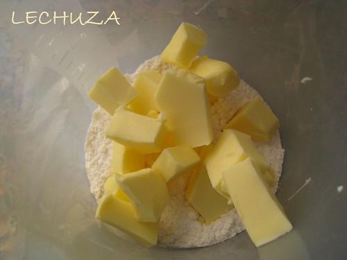 Barquillos-azucar y mantequilla