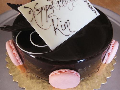02-17 chocolate creme brule cake