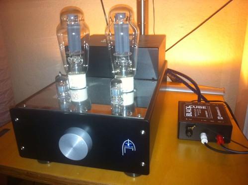 Black Cube Statement an Audio Silver Night 300B