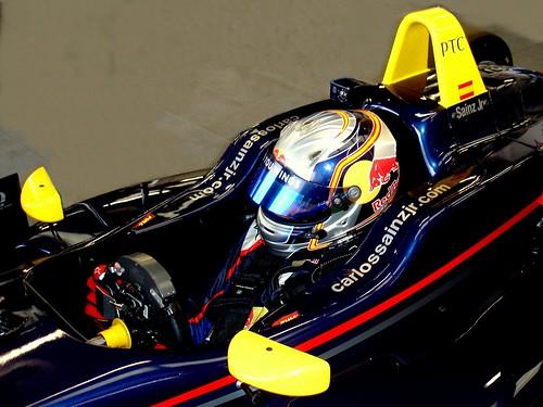 Carlos Sainz Júnior F3 Británica 2012 en Oulton Park