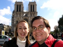 Joy and Richard at Notre Dame