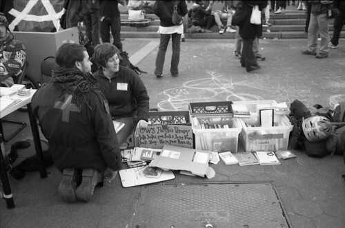 Occupy Wall Street, occupying Union Square Park