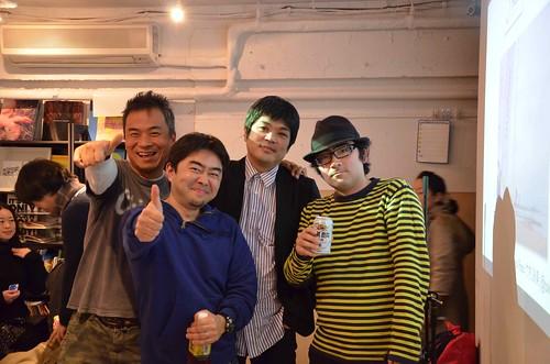 Feb 17 PeaTiX Live! Vol.4 パネルディスカッションの4人