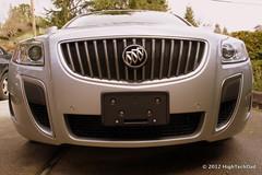 vehicle registration plate(0.0), automobile(1.0), automotive exterior(1.0), wheel(1.0), vehicle(1.0), automotive design(1.0), rim(1.0), grille(1.0), buick regal(1.0), bumper(1.0), land vehicle(1.0), luxury vehicle(1.0),