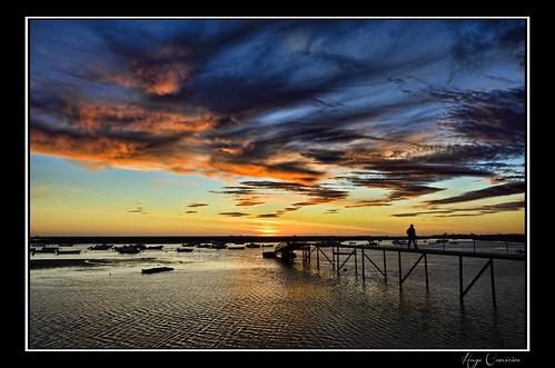 sunset orange clouds pier dock nikon dramatic ii nikkor vr 18200mm d7000 bestcapturesaoi ringexcellence dblringexcellence tplringexcellence eltringexcellence