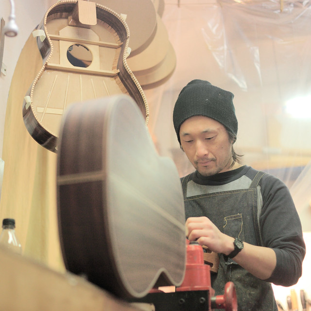 Japanese Handmade Guitars in Spain