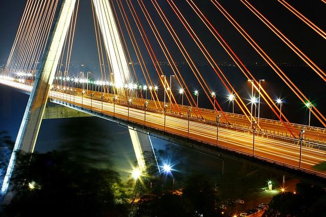 斜張橋咖啡 斜張橋 高雄夜景 9P夜生活