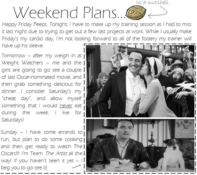 Weekend plans 2.24.12
