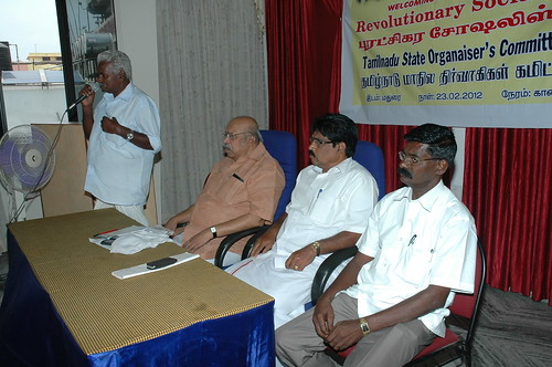 RSP All India General Secretary T.J Chandrachoodan and Tamilnadu State Convener Dr.A.Ravindranath Kennedy M.D(Acu).,attended the State Organaiser`s Committee Meeting at Madurai... 57 by Dr.A.Ravindranathkennedy M.D(Acu)