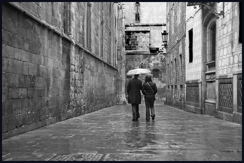regen in barcelona by hans van egdom