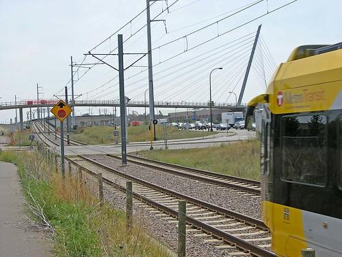 train underpass