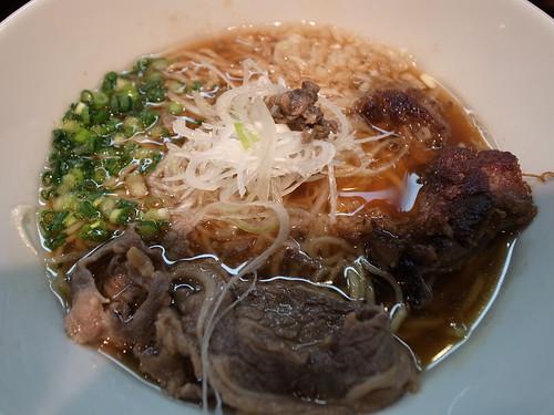 ra120225嵐風 牛醤油らぁ麺