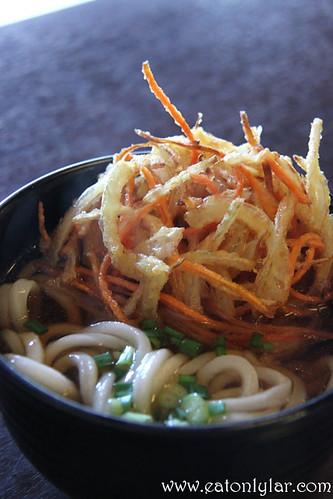 Kakiage Udon (揚げうどん), Sanuki Udon