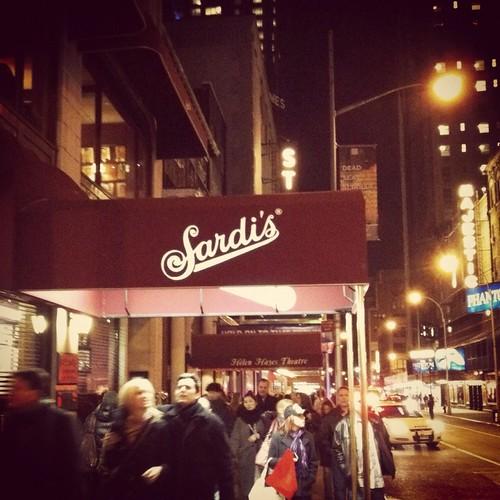 THE sardi's :)
