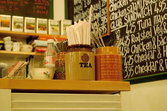 flat white tea
