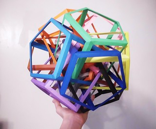 Twelve Interlocking Pentagonal Prisms (Byriah Loper)