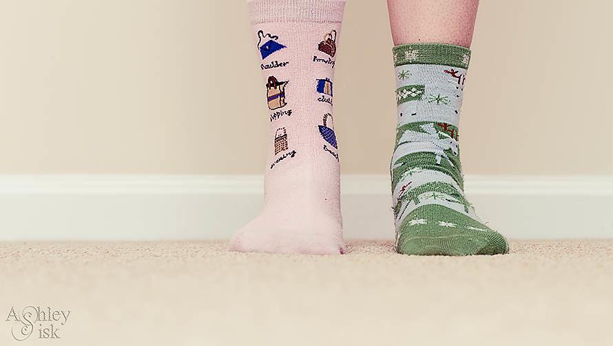Mismatched Socks RS