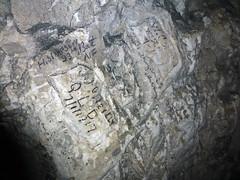 WW1 graffiti, Naours