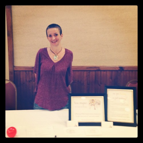 I have a booth! And I rocked my talk too! And I've met the most incredible soulful people! <3