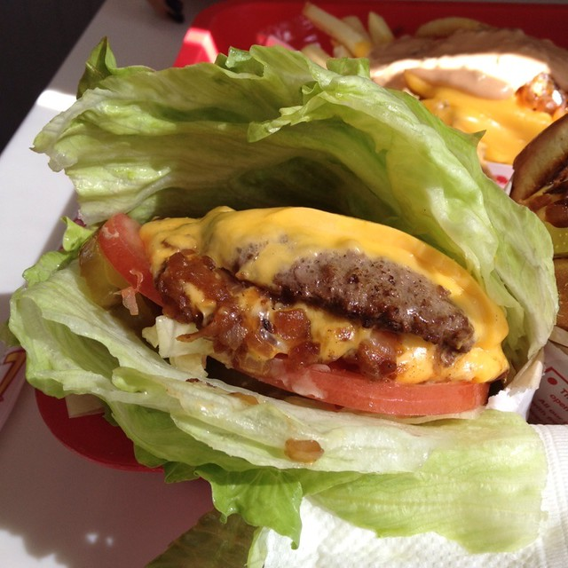 Double-Double Animal Protein Style @ In-N-Out Burger ...