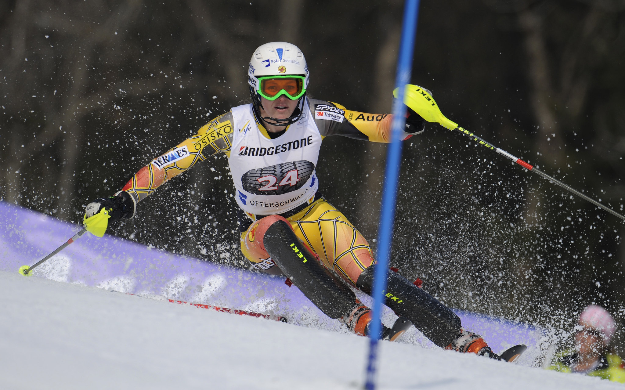 Erin Mielzynski in action in Ofterschwang.