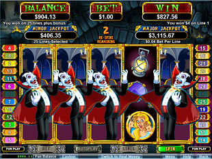 Count Spectacular Bonus Game