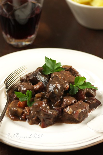 Boeuf bourguignon de Julia Child