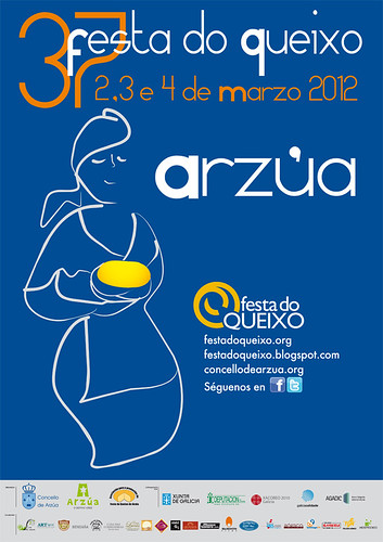 Arzúa 2012 - Festa do Queixo - cartel 2