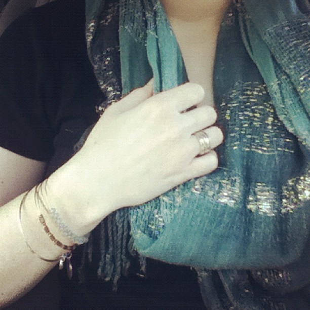 Stackable rings that I haven't wore in at least 5 years #marchphotoaday #somethingyouwore #day7