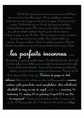 les parfaits inconnus (affiche)