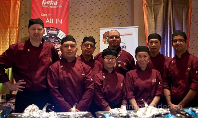 Tobin Boothe, Jamie, Chef Victor, Sylvain Currier, Daisy, Allen, Chef Manpreet