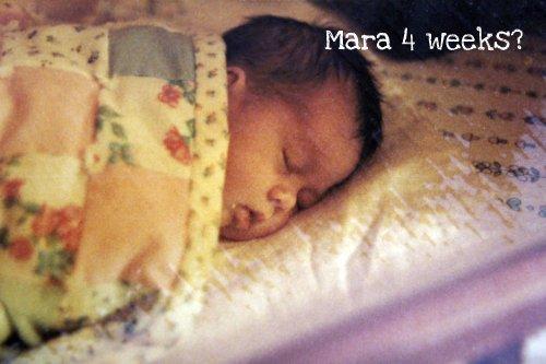 Mara sleeping