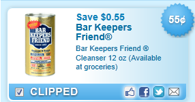 Bar Keepers Friend Cleanser Coupon