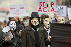 Anonymous contre Acta à Rouen