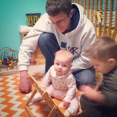 Learning with Daddy