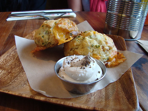 Bacon cheddar biscuits @ MB Post