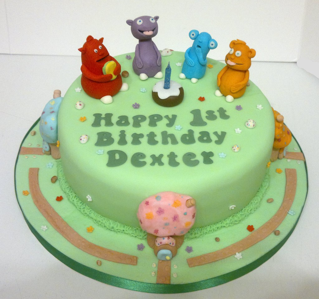The Cuddlies Birthday Cake