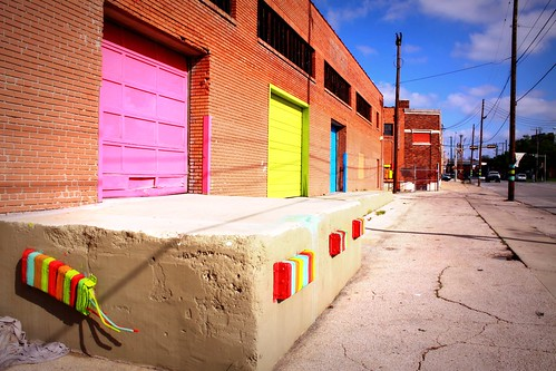 Painted Loading Dock