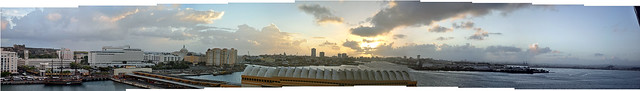 old san juan panoramic
