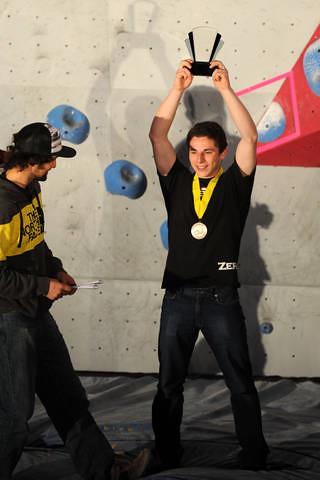 120315 Josh YOung Gun Award