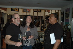 Wine and conversation at Grapes & Grooves
