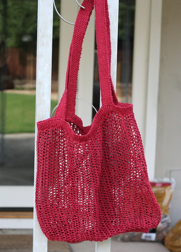 Knitted Market Bag