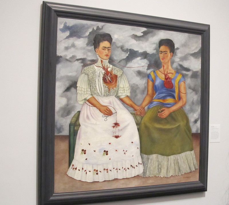 Las dos Fridas 1939 Frida Kahlo Pinturas Famosas Frida Kahlo Obras Famosas