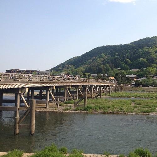 Puente Togetsukyo #kyoto #japan #japon #puente #bridge