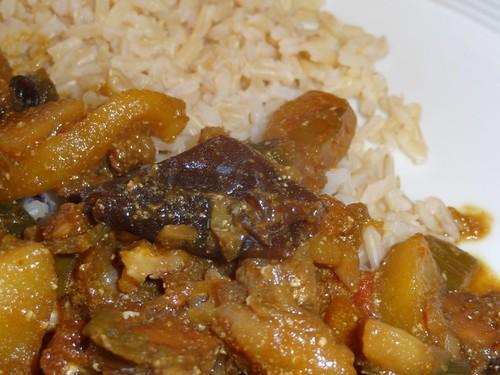 Judasohren in Reisgericht