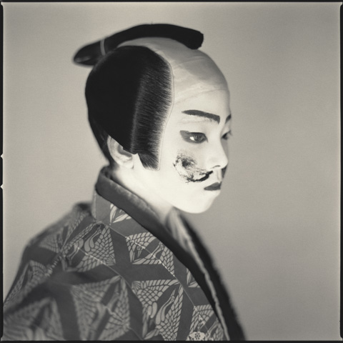 Hiroshi Watanabe, Ryota Nakajima as Mannojo, Matsuo Kabuki, 2004
