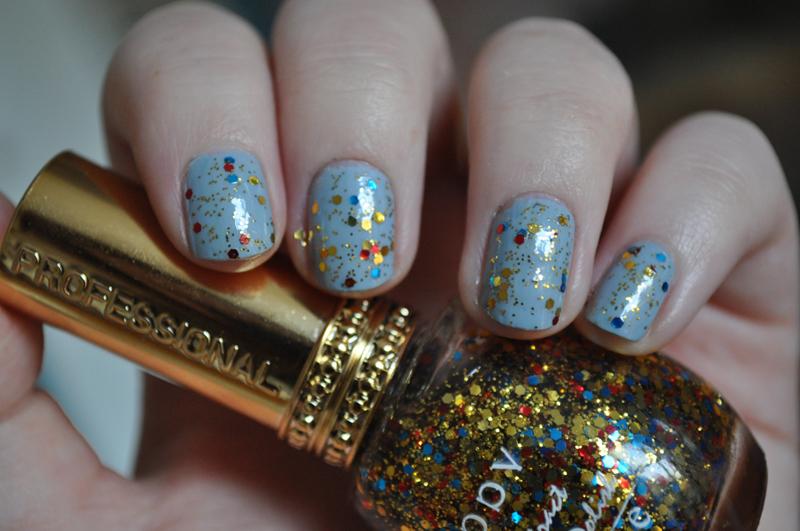 eyeko rain guppy cuddv glitter notd nail polish